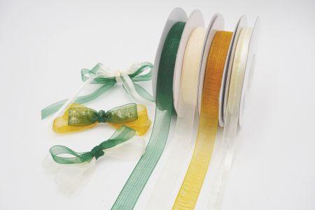Earthtone colors Ribbon Set
