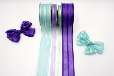 Violet Purple Ribbon Set