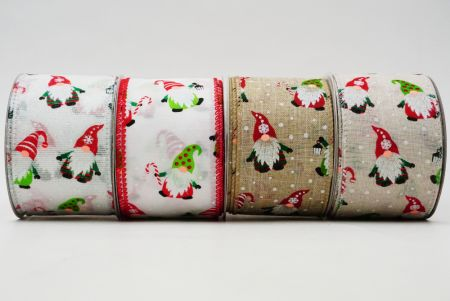 Christmas Gnomes Ribbon - Christmas Gnomes Ribbon