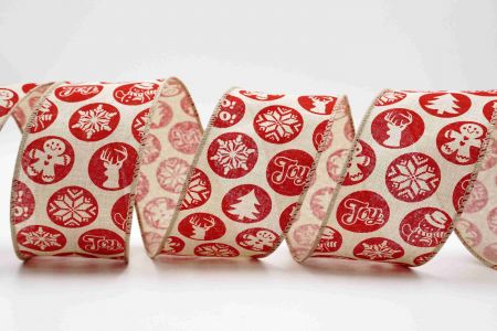 Christmas Snow Globe Ribbon - Christmas Snow Globe Ribbon