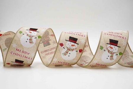 Christmas Snowman Ribbon - Christmas Snowman Ribbon