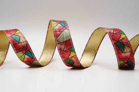 Colorful Geometry Ribbon - Colorful Geometry Ribbon