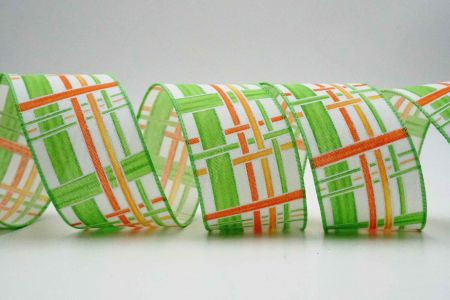 Colorful Vertical Lines Ribbon - Colorful Vertical Lines Ribbon