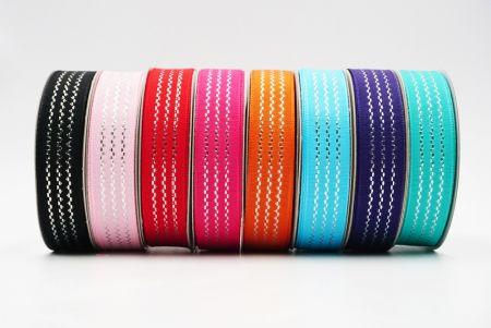 Wavy Lines Woven Ribbon - Wavy Lines Woven Ribbon