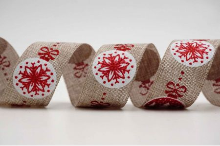 Delicate Christmas Baubles Ribbon - Delicate Christmas Baubles Ribbon