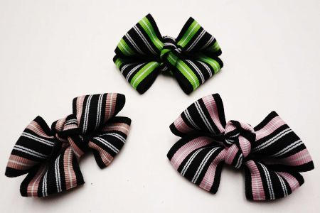 Fashion Bright & Dark Stripe Ribbon