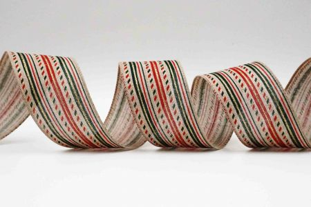 Festive Stripes Ribbon - Festive Stripes Ribbon