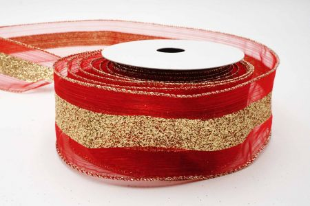 Glitter Center Ribbon - Glitter Center Ribbon