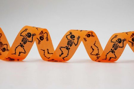 Halloween Skeleton Ribbon - Halloween Skeleton Ribbon