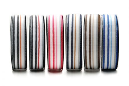 Heavy-Weight Striped Ribbon - Heavy-Weight Striped Ribbon