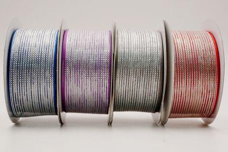 Metallic Woven Ribbon - Metallic woven ribbon