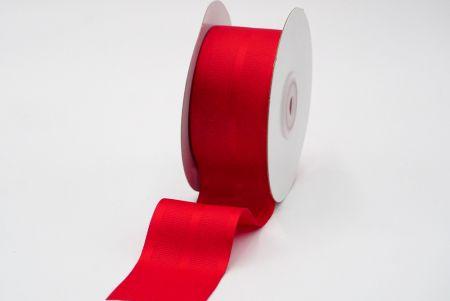 red woven grosgrain ribbon