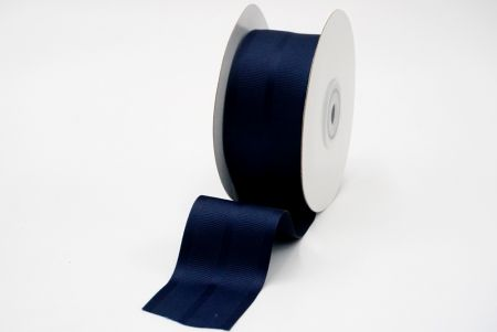 navy grosgrain woven ribbon