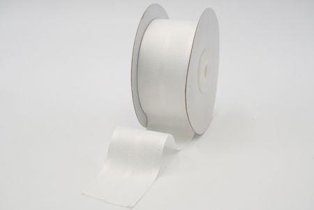 plain white grosgrain ribbon