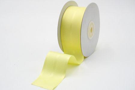 light yellow grosgrain ribbon