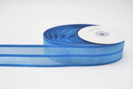 see through grosgrain ribbon/blue