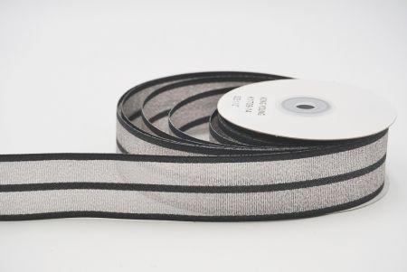 different fabric ribbon black
