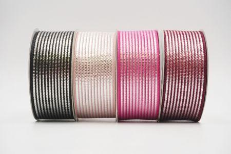 Sheer Glitter Stripes Ribbon - Sheer Glitter Stripes Ribbon