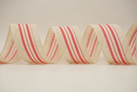 red/white christmass elements ribbons