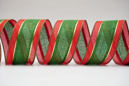 Classic chrsitmas combination woven ribbons