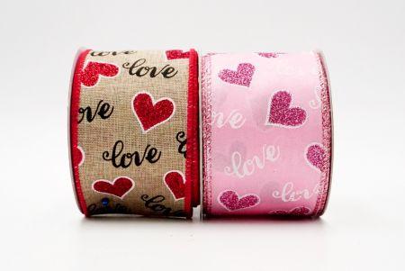Handwrite Love Ribbon - Valentine supplement ribbon