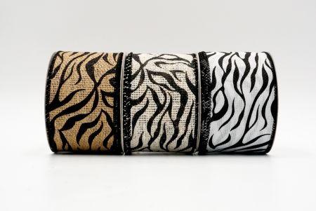 Lint met zebraprint