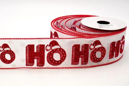 HO HO HO & Xmas Hat Ribbon