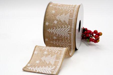 christmas tree patterns ribbon