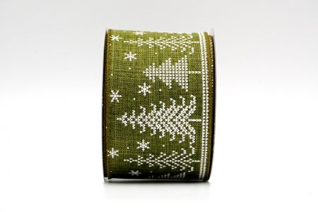 knit style wired ribbon