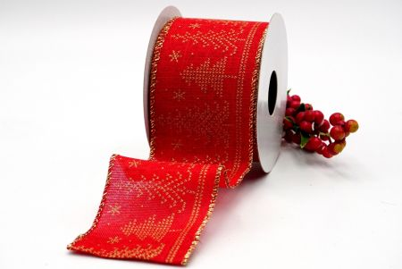 red and gold sweater designs ribbon