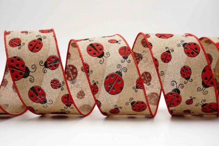 Lovely Ladybugs Ribbon - Lovely Ladybugs Ribbon