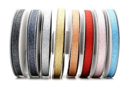 Narrow Metallic Craft Ribbon - Narrow Metallic Craft Ribbon