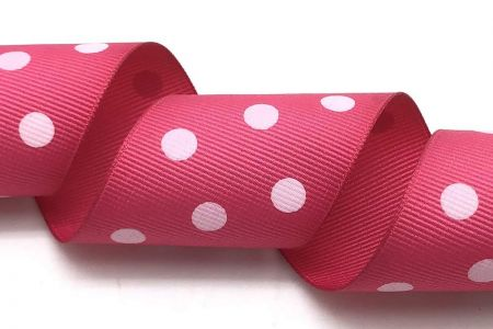 Polka Dots Wide Grosgrain Ribbon