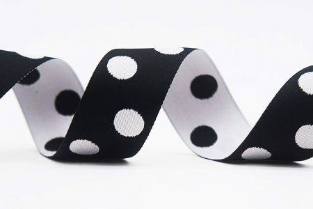 Reversible Dots Jacquard Ribbon - Reversible Dots Jacquard Ribbon