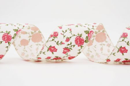 Rose Print Ribbon - Rose Print Ribbon