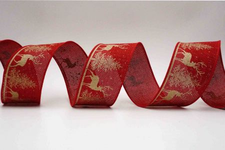 Rustic Christmas Forest Ribbon - Rustic Christmas Forest Ribbon