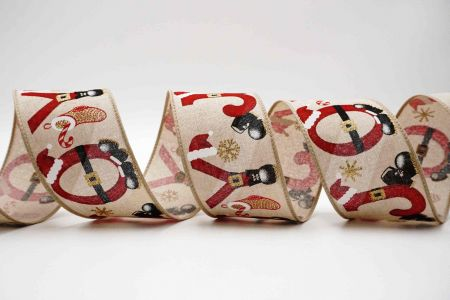 Santa's Accessories Ribbon - Santa's Accessories Ribbon