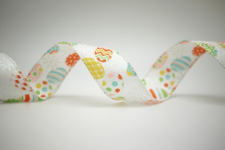 Colorful Easter Eggs Ribbon - Colorful Easter Eggs Ribbon
