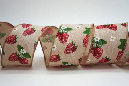 Strawberries Ribbon