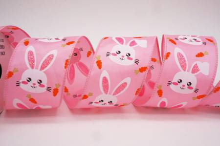 Easter Bunny & Carrot Ribbon