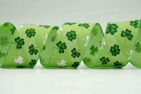 St. Patrick Clovers Ribbon - St. Patrick Clovers Ribbon