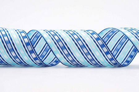 Stripe & Square Woven Ribbon