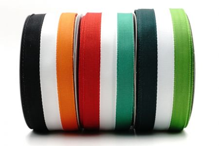 Tri-color Striped Patriotic Ribbon - Tri-color Striped Patriotic Ribbon
