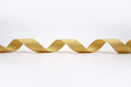 Twill Metallic Woven Ribbon - Twill Metallic Woven Ribbon