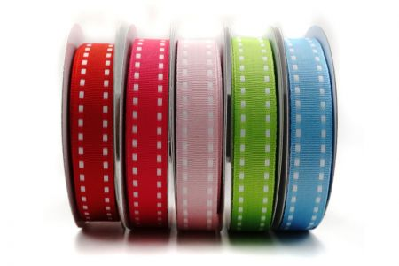 Woven Stitched Edge Ribbon - Woven Stitched Edge Ribbon