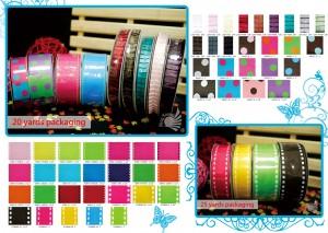 Grosgrain Ribbon / Pleated Ribbon / Jacquard Ribbon