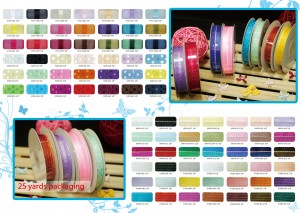 Sheer Ribbon / Woven Ribbon - Sheer Ribbon / Woven Ribbon
