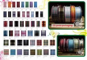 NO.32 Plaid Ribbon