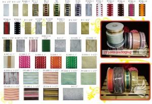 FLORENS Japanese / Glitter Ribbon / Plaid Ribbon