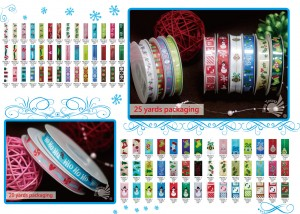 Christmas Printed Ribbon
